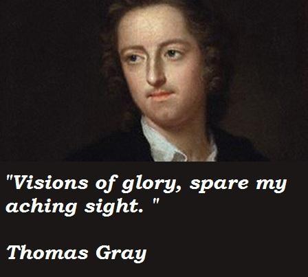 Thomas Gray's quote #6