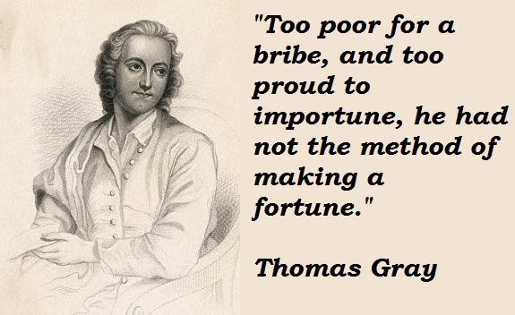 Thomas Gray's quote #4