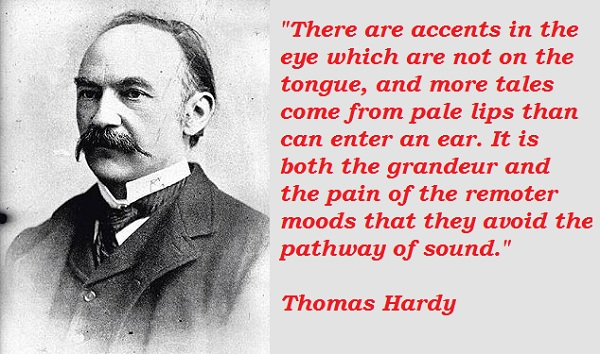 Thomas Hardy's quote #1