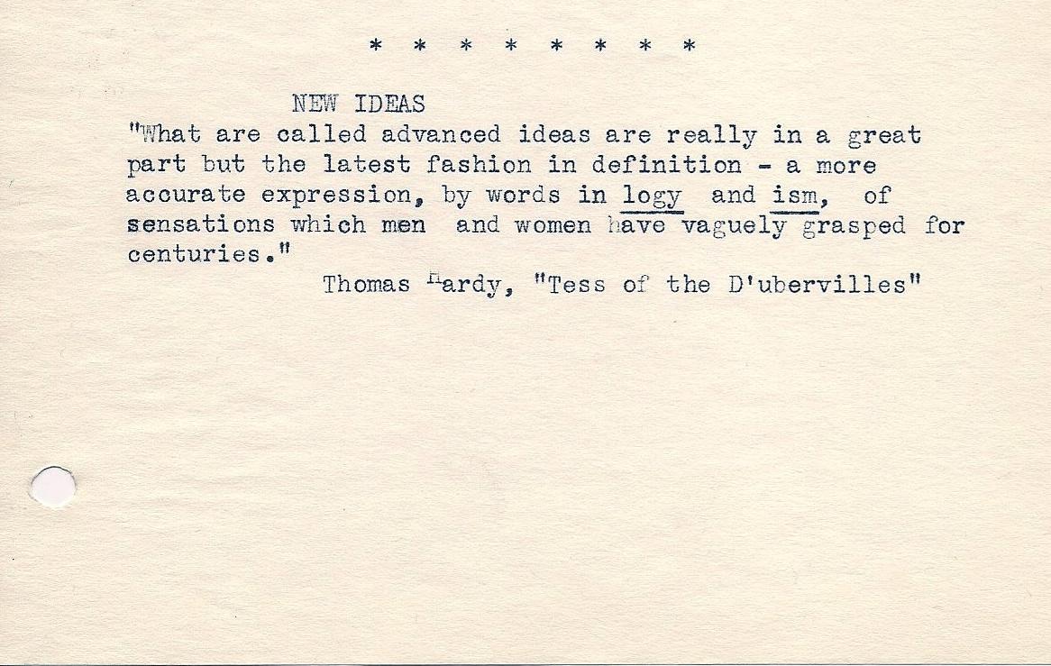 Thomas Hardy's quote #7