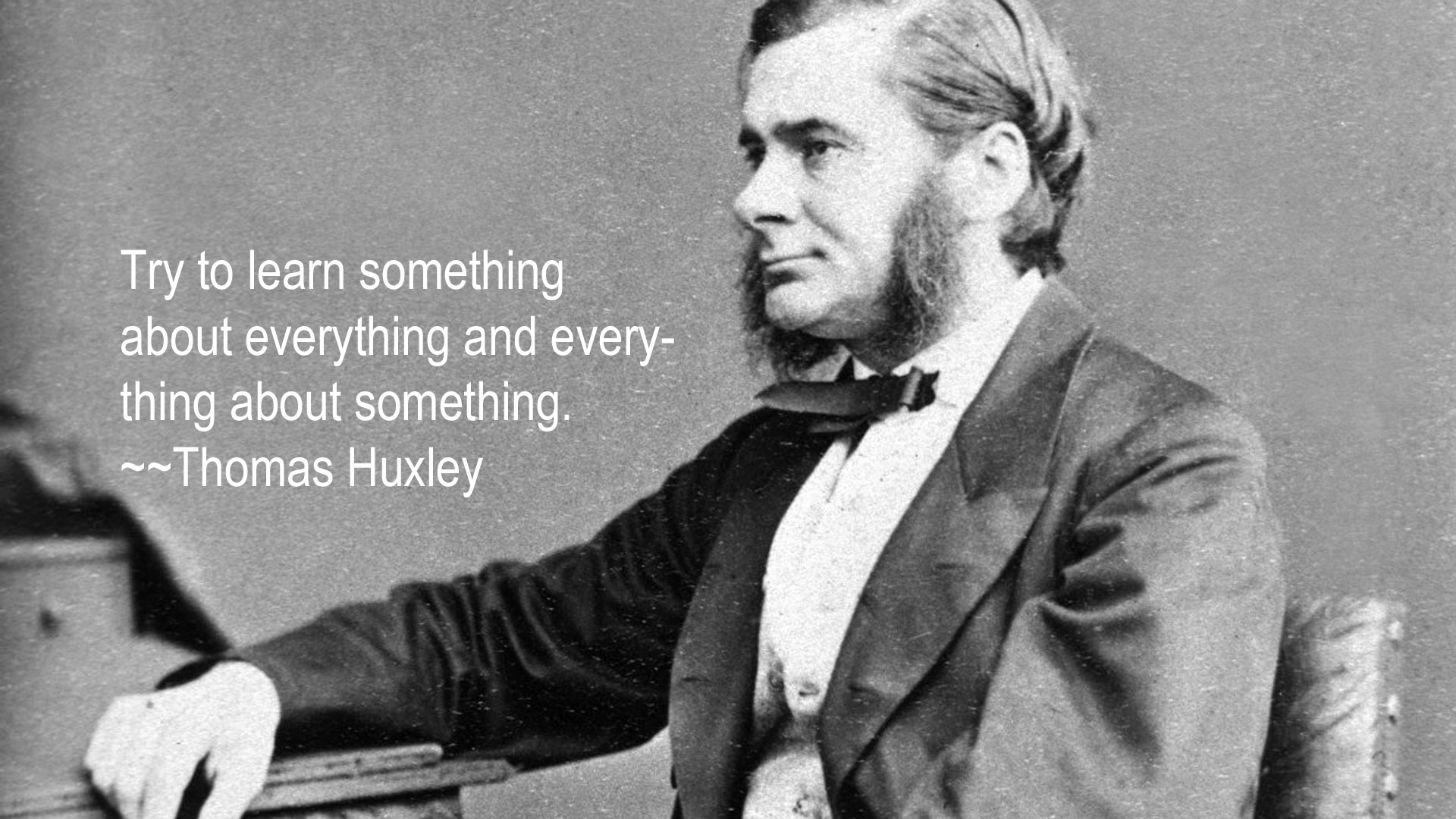 Thomas Huxley's quote #2