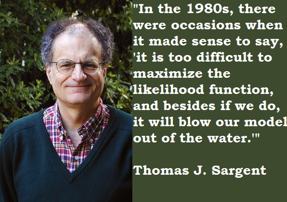Thomas J. Sargent's quote #4