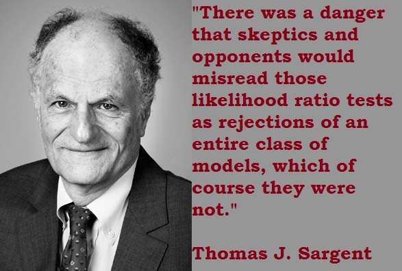 Thomas J. Sargent's quote #2