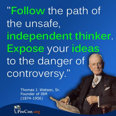 Thomas J. Watson's quote #7