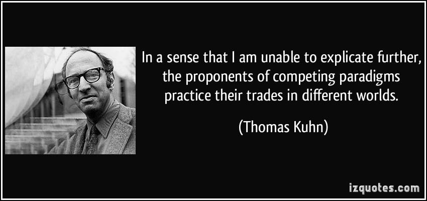 Thomas Kuhn's quote #2