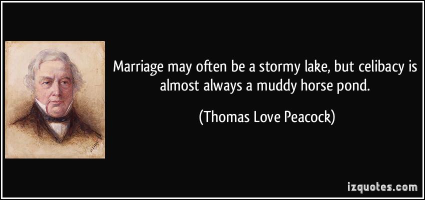 Thomas Love Peacock's quote #1