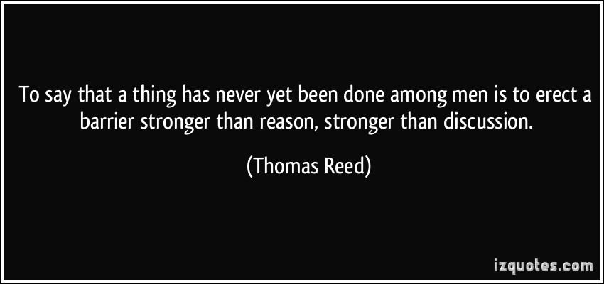 Thomas Reed's quote #1