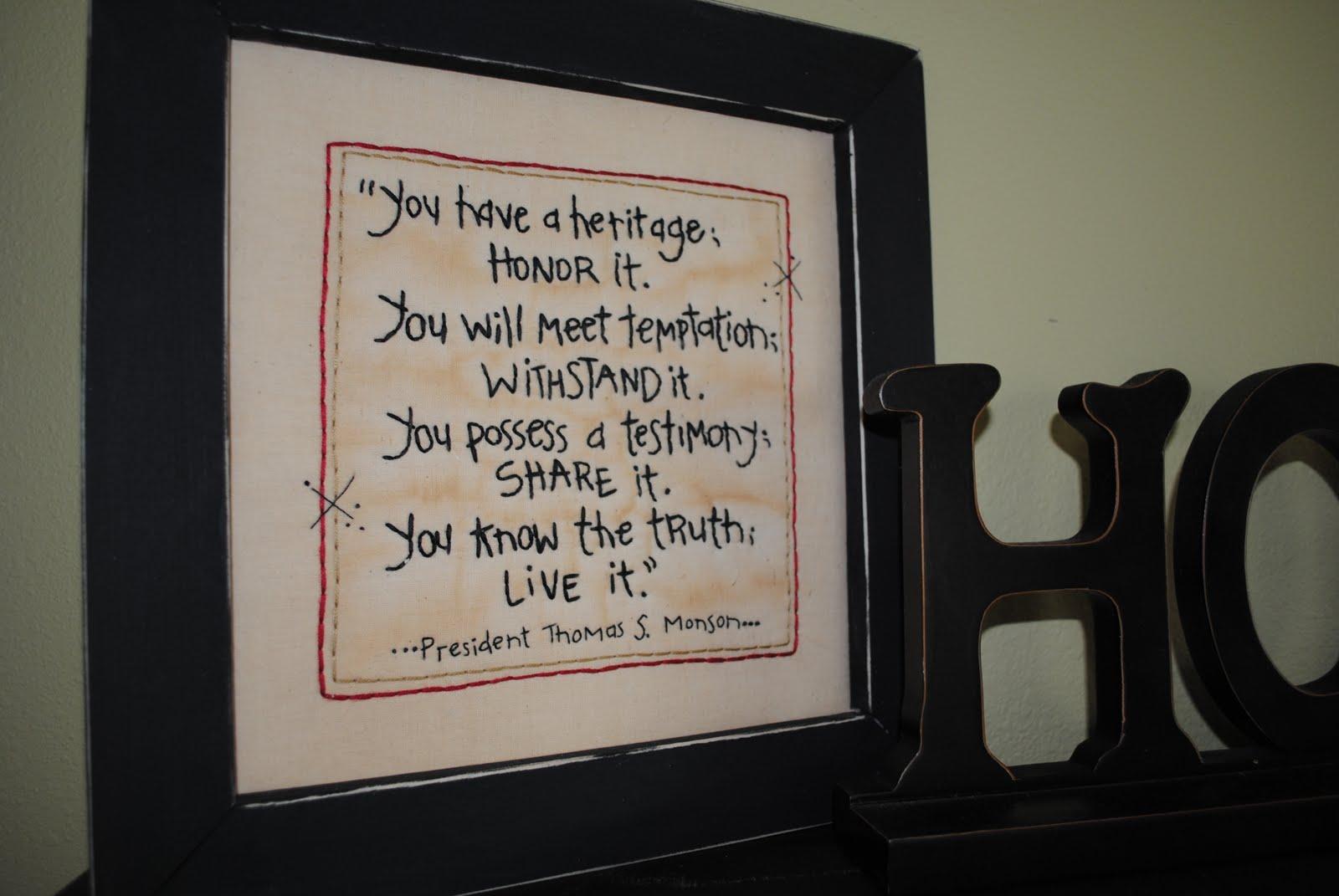 Thomas S. Monson's quote #7