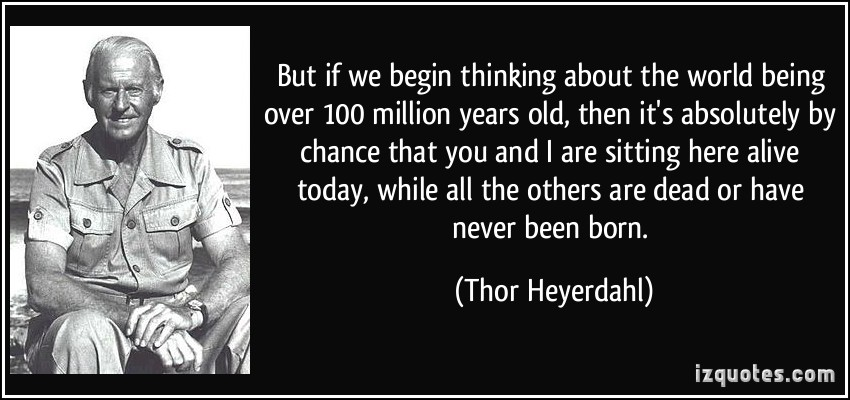 Thor Heyerdahl's quote #7