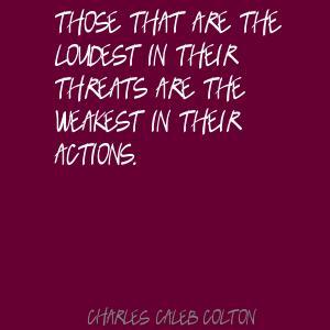Threats quote #4