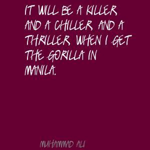 Thriller quote #1