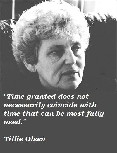 Tillie Olsen's quote #2