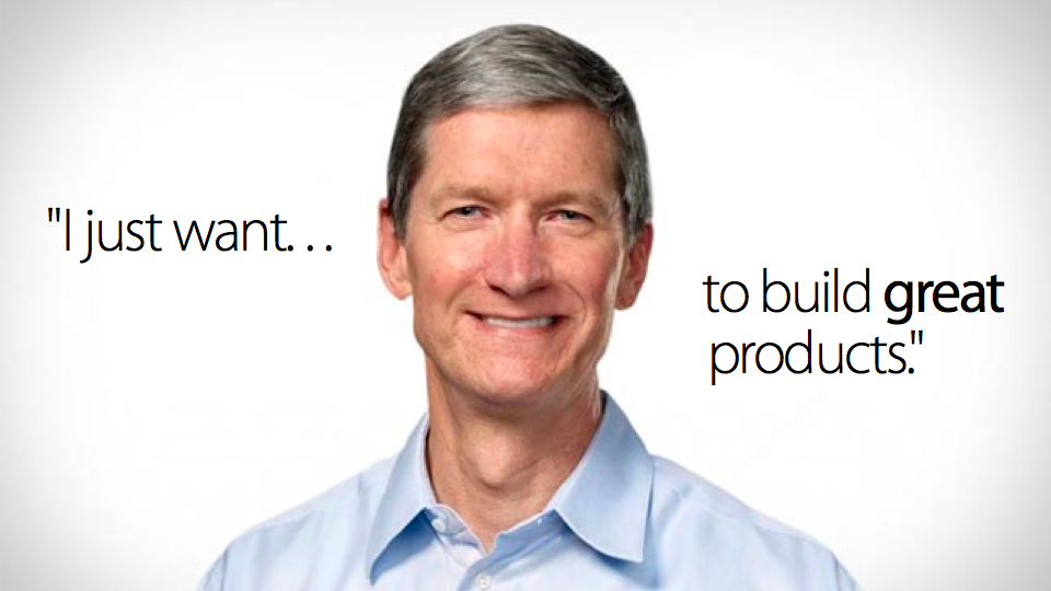 Tim Cook's quote #1