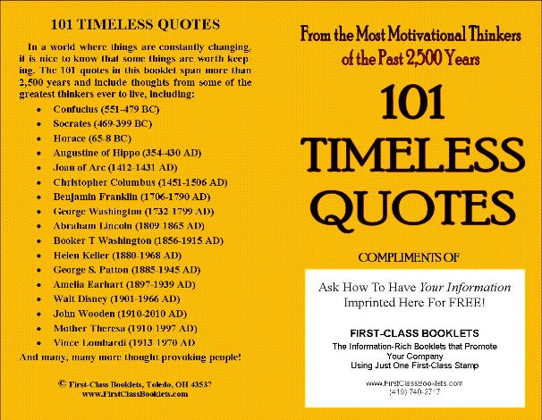 Timeless quote #6