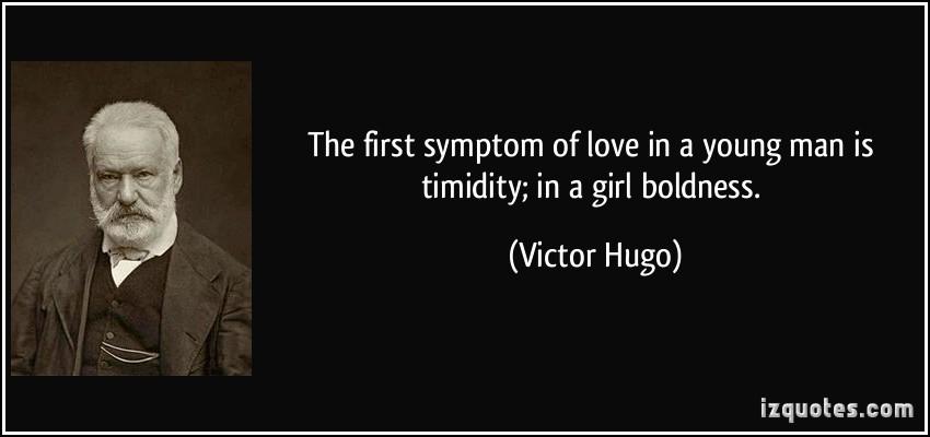 Timidity quote #1