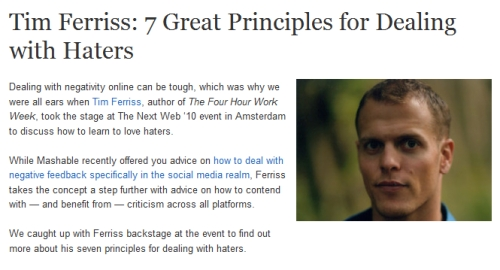 Timothy Ferriss's quote #7