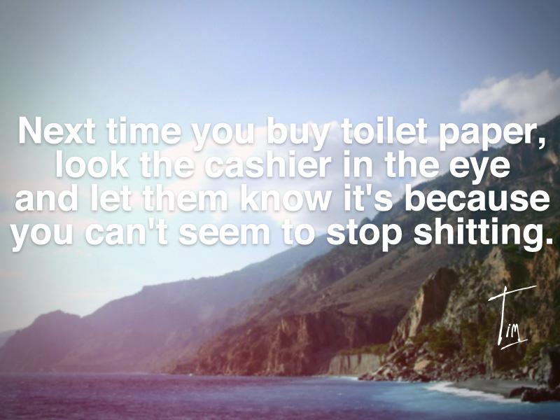 Toilet quote #2