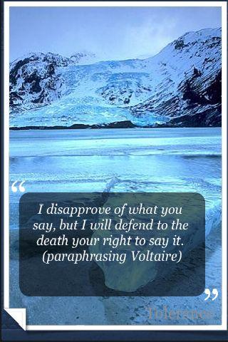 Tolerance quote #4