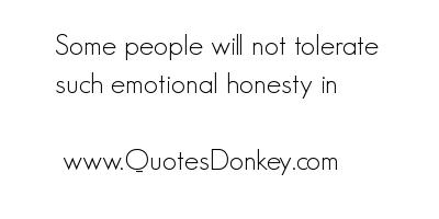 Tolerate quote #3