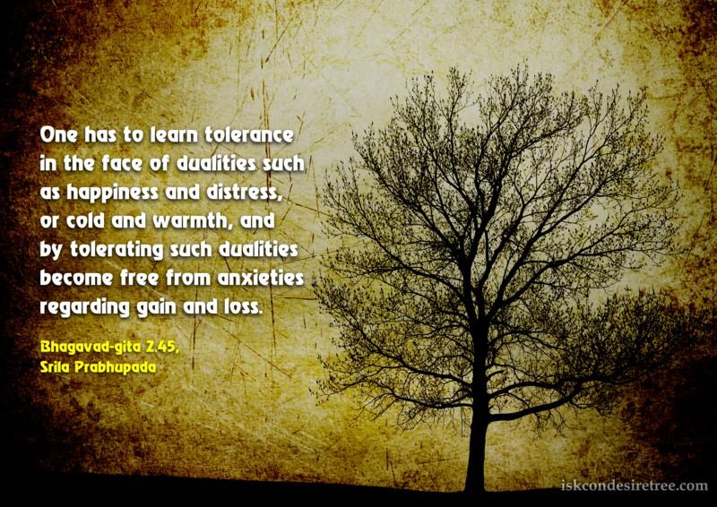 Tolerating quote #1