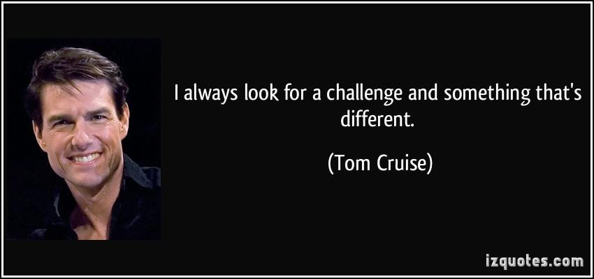 Tom Cruise quote #1