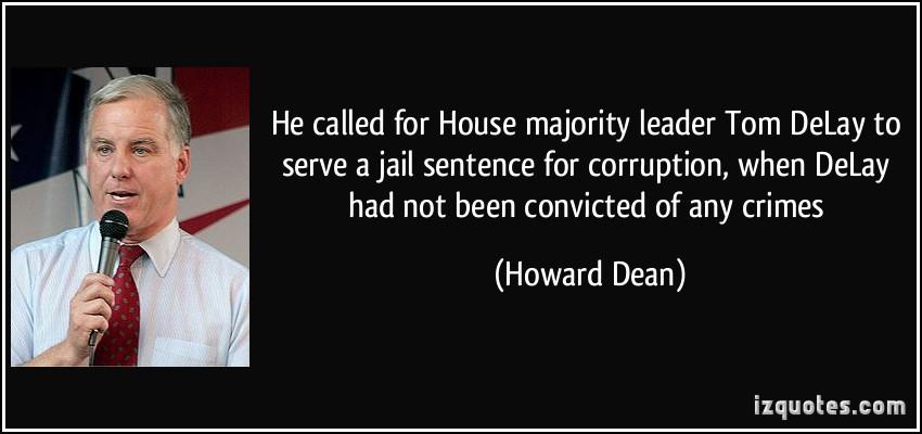 Tom Delay quote #2