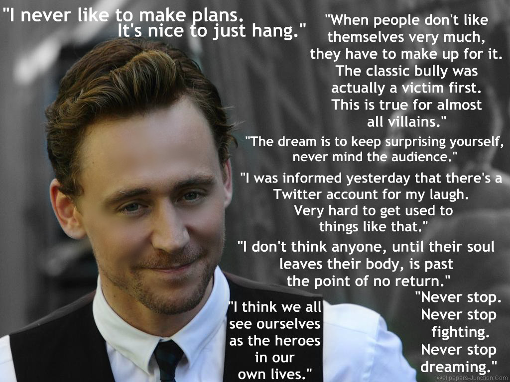 Tom Hiddleston's quote #4