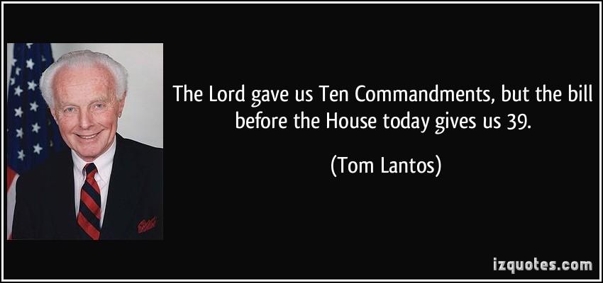 Tom Lantos's quote #7