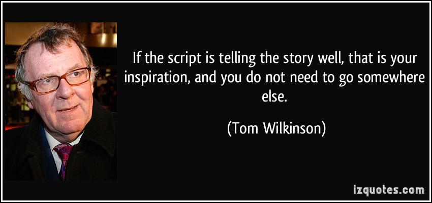 Tom Wilkinson's quote #1