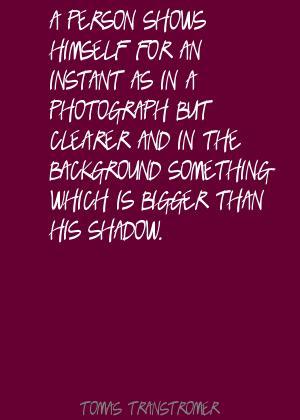 Tomas Transtromer's quote #4