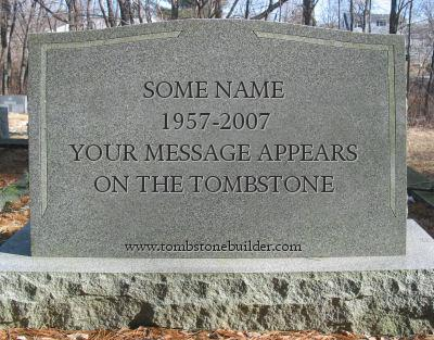 Tombstones quote #1