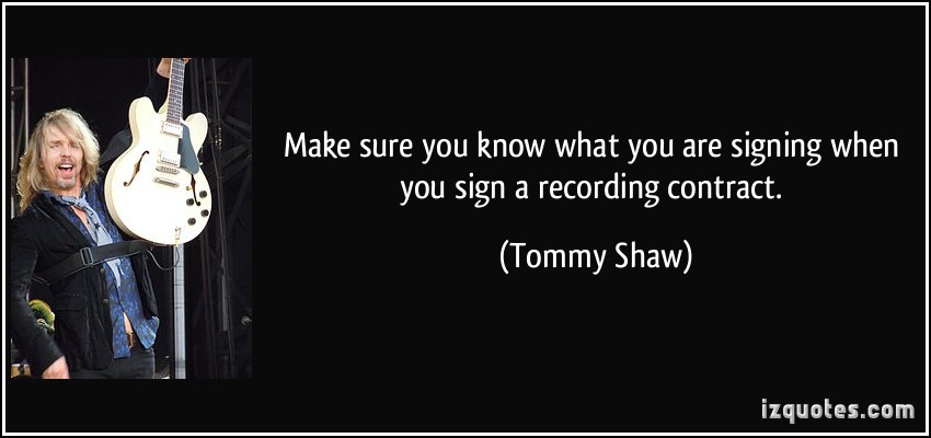 Tommy Shaw's quote #1