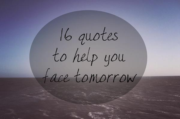 Tomorrows quote #1