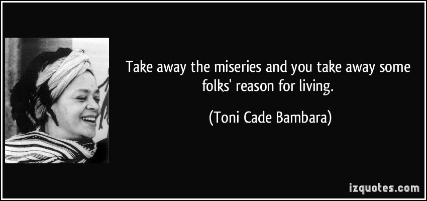 """symbolism lesson toni cade bambara Review of toni cade bambera's the lesson updated on august 21 name symbolism is shown in the name of the antagonist """"miss bambara, toni cade."""
