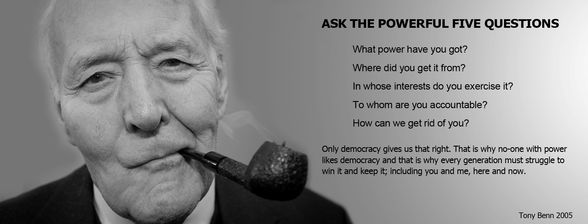 Tony Benn's quote #2