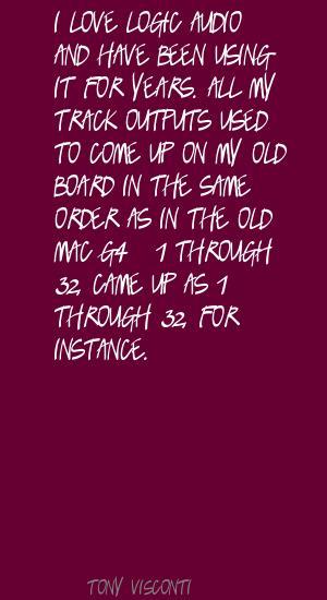 Tony Visconti's quote #1