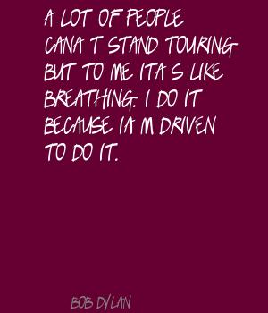 Touring quote #6
