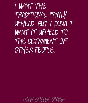 Traditional Family quote #2