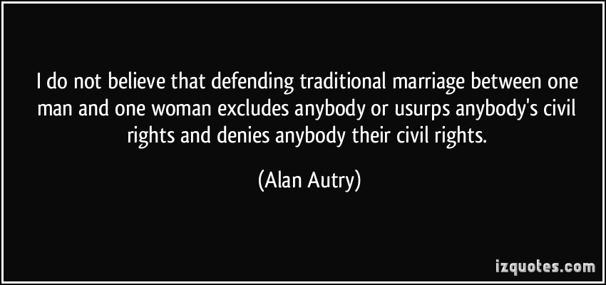 Traditional Marriage quote #2