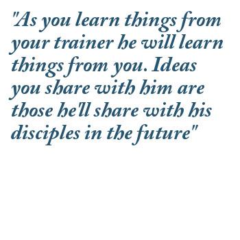 Trainer quote #2
