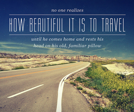 Travelling quote #2
