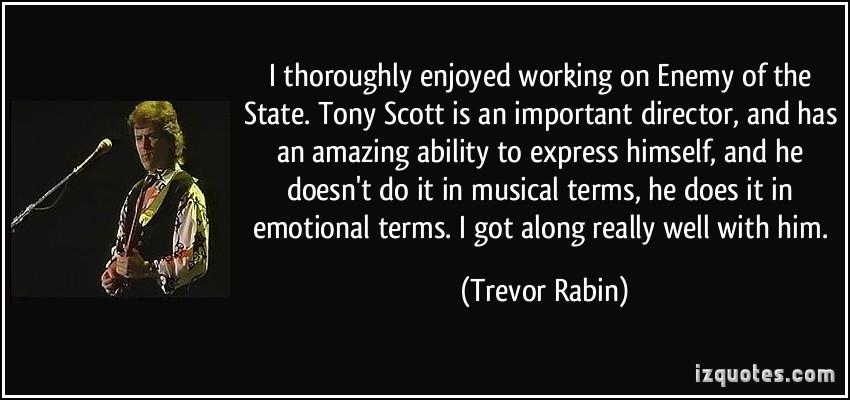 Trevor Rabin's quote #5