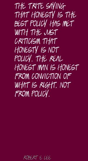 Trite quote #1