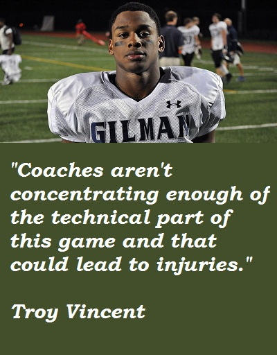 Troy Vincent's quote #2