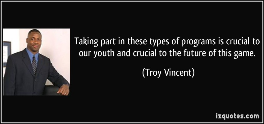 Troy Vincent's quote #6