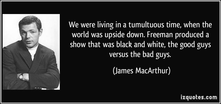 Tumultuous quote #1
