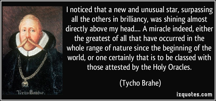 Tycho Brahe's quote #1
