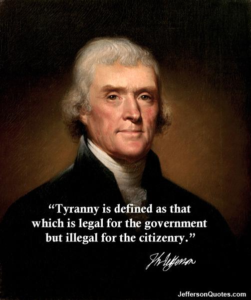 Tyranny quote #2