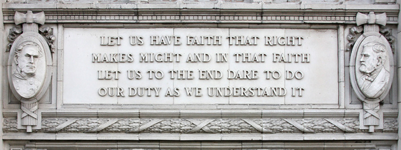 Ulysses S. Grant's quote
