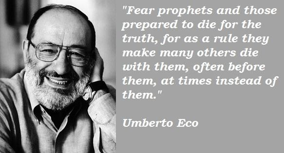 Umberto Eco's quote #4